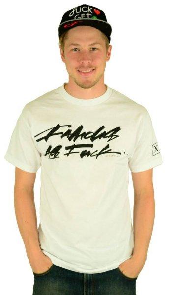Slick FAF T-Shirt White