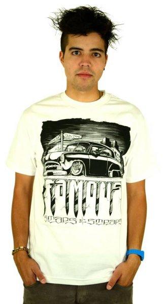 Creepin T-Shirt White/Black Größe: S