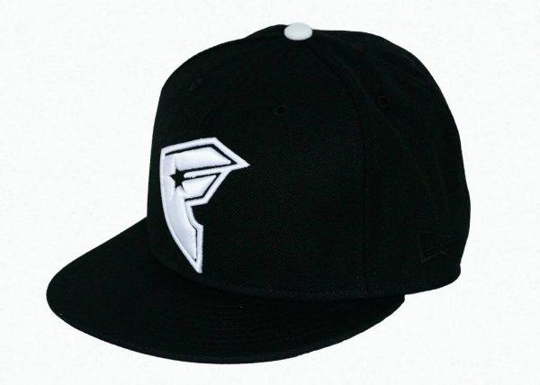 Cross Up New Era Cap Black/White Größe: 7 5/8