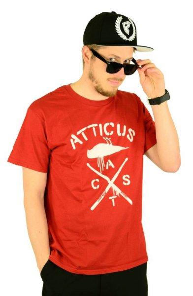 Crossbird T-Shirt Maroon