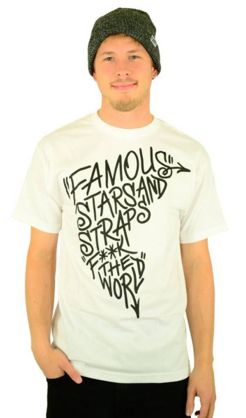 Boh FTW T-Shirt White/Black Größe: S
