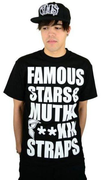 MFS T-Shirt Black/White Größe: S