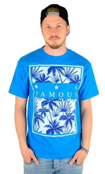 Tropical Box T-Shirt Turquoise Größe: XL
